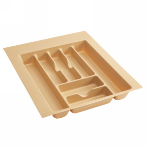 "17-1/2"" Cutlery Drawer Insert, Plastic, Almond, Rev-a-shelf  CT-3A-52"