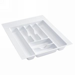 "17-1/2"" Cutlery Drawer Insert, Plastic, White, Rev-a-shelf  CT-3W-20"