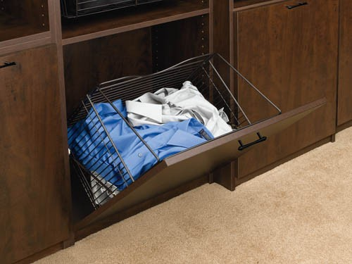 Rev-A-Shelf CTOHB-211319-ORB-52 20-1/2in W Tilt Out Hamper Basket System, ORB