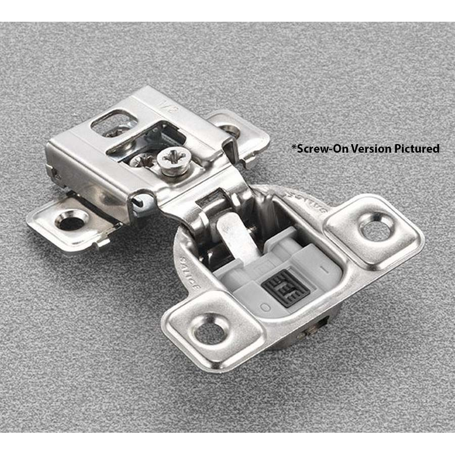 """Salice CUP34D9R 106° Soft-Closing Hinge, 3/4"""" Overlay, 3 Cam, Screw-On"""