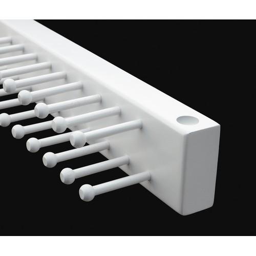 rev a shelf cwstr 14w 1 14in side mount tie rack white. Black Bedroom Furniture Sets. Home Design Ideas