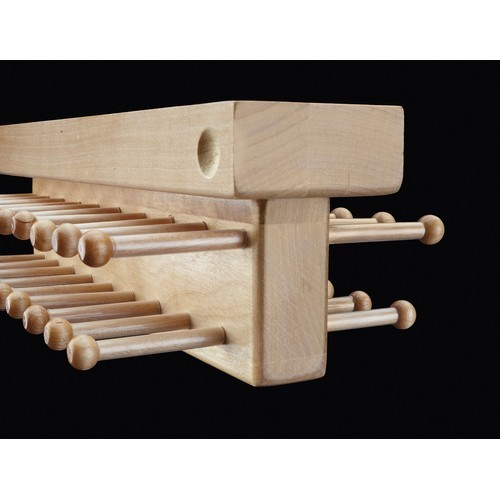 "20"" Top Mount Wood TieButler Natural Maple Rev-A-Shelf CWTTR-20-1"