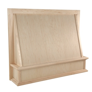 """Omega National 30"""" Wide Classic Wall Hood with Liner for Broan, Maple, R70302SMB1MUF1"""