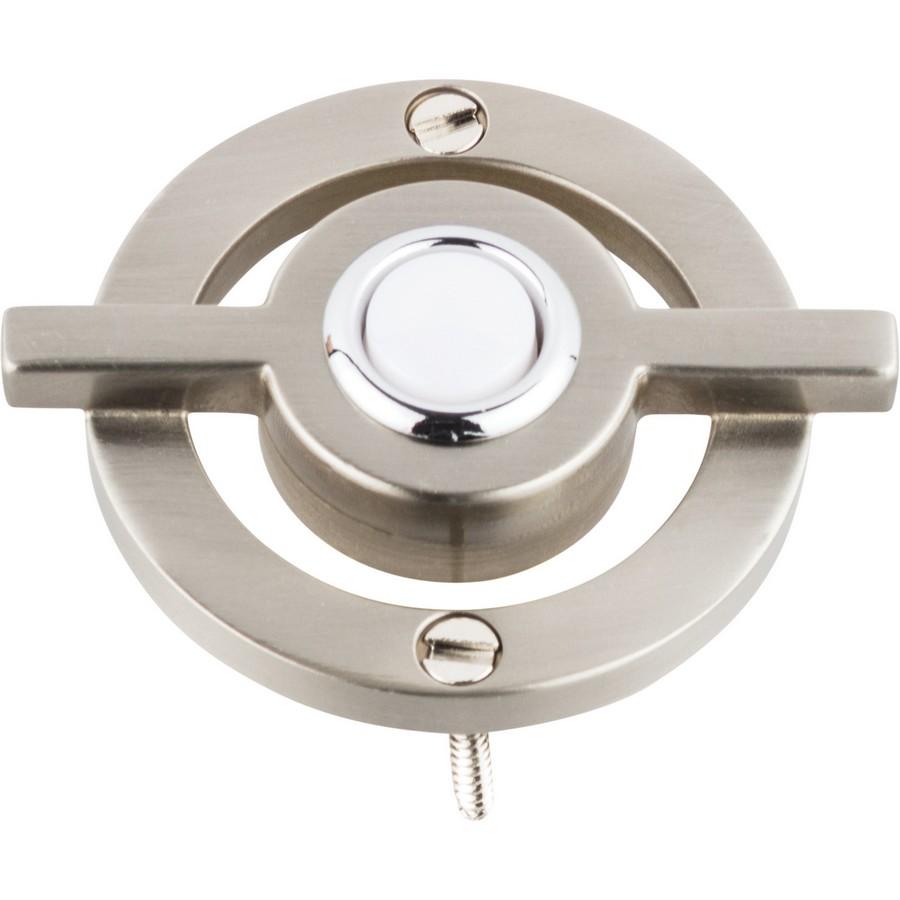 Modern Avalon Doorbell  Brushed Nickel Atlas Homewares DB643-BRN