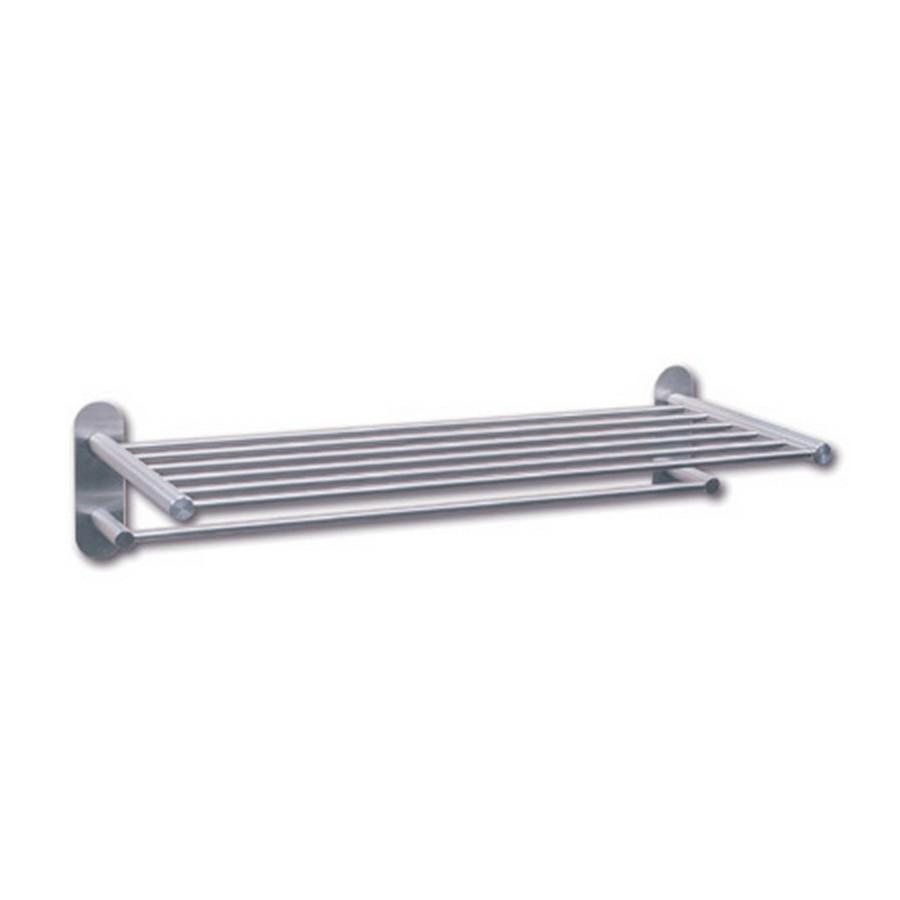 "DSD Hotel Towel Rack 23-5/8"" Wide Satin Stainless Steel Sugatsune DSD-80"
