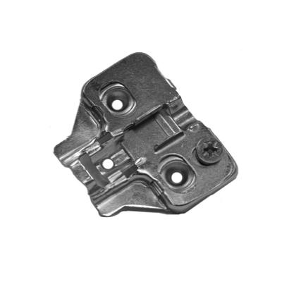 WE Preferred 0683114832961 400, 4mm Cam Adjustable Wing Hinge Plate, Wood Screw