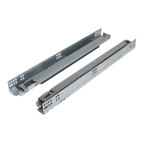 """Dynapro 16 3-D 27"""" Heavy Duty Full Extension Soft-Close Undermount Drawer Slide with Tilt Adjustment for 5/8"""" Drawer Grass F130101394203"""