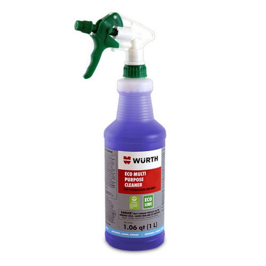 1 Liter (33 fl. oz.), Eco Multi-Purpose Cleaner, WE Preferred 089347410 088 12