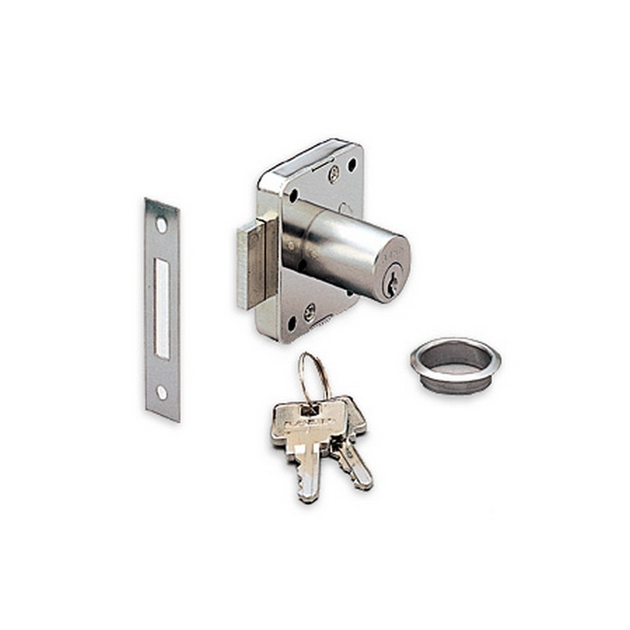 "3310 Cabinet Lock 1-3/16"" L KA/KD Nickel Sugatsune 3310-30/SN"