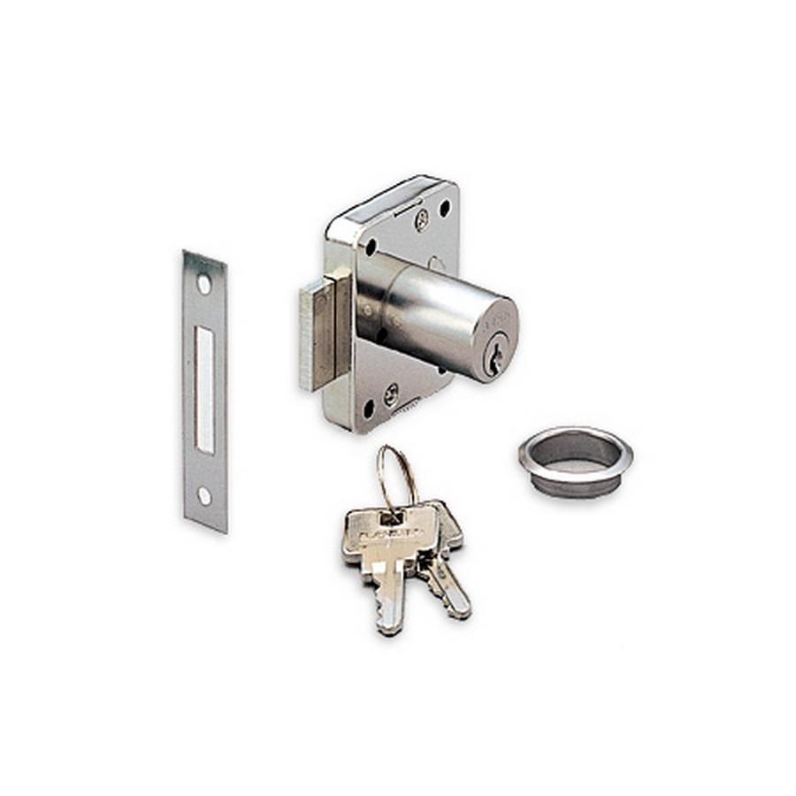"3310 Cabinet Lock 15/16"" L KA/KD Nickel Sugatsune 3310-24/SN-3301"