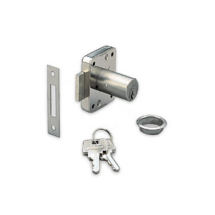 "3320 Cabinet Lock 1-3/16"" Long KA/KD Nickel Sugatsune 3320-30/SN"