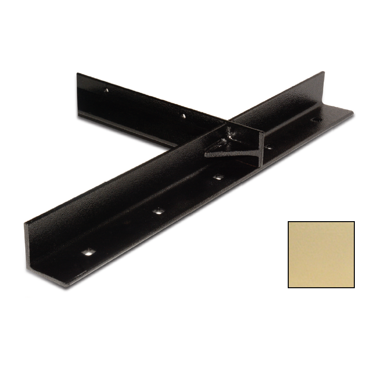 "WE Preferred B08-ECH24-7K4, 26""x26"" Extended Concealed Bracket, Almond, Packed 2 Each"