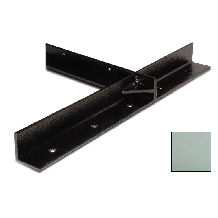 """WE Preferred B08-ECH24-GK4, 26""""x26"""" Extended Concealed Bracket, Gray, Packed 2 Each"""
