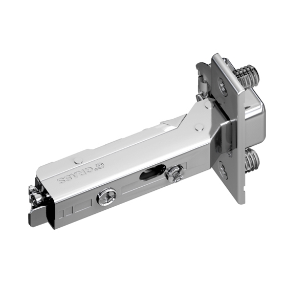 Grass F045138307228 120 Degree Tiomos Self-close Hinge, Full Overlay, Dowel, 42mm Boring Pattern