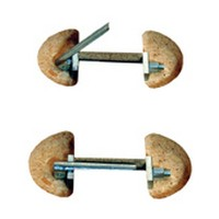 FastCap FLIPBOLT-SHORT Tite Joint / Dog Bone, FastCap FlipBolt Tool-less Tite Joint, 3-1/2 Long