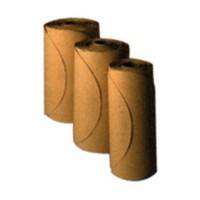 3M 51131013339 Abrasive Discs, Aluminum Oxide on Film, 6in, No Hole, PSA, 80 Grit