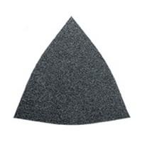 Fein 63717083015, Abrasive Triangle, Aluminum Oxide on Paper, 3-1/8 Hook & Loop, 80 Grit