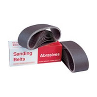 Pacific Abrasives BLT 3X24 100 XW341, Portable Sanding Belts, Aluminum Oxide on X-Weight Cloth, 3 x 24, 100 Grit