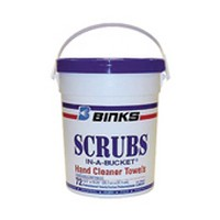 Finishing Brands 29-3100-K6, Hand Cleaner, Wipes, 72 each 8 x 12-1/4