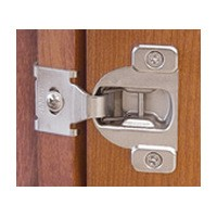 Blum 2672703 105 Degree Compact 38. Face Frame Hinge, Self-Close, 1/2 Overlay, Dowel