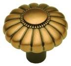 "Belwith G2-15R, Wellington Bronze 1-1/4"" Knob, Solid Brass"