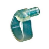 Hettich 1005082 Bulk-1000, 5mm Bore, Shelf Support Hold-Down, Translucent Plastic