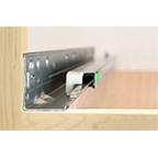 "18"" Elite Plus Full Extension Soft-Close Undermount Drawer Slide Bulk-200 Sets Grass 13364-12"