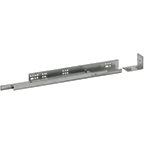 "Grass 7104.381.5, 15"" Undermount Drawer Slide, Full Extension, Soft-Close, for 5/8 Drawer, 100lb"