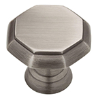 "1-3/16"" Heirloom Silver Knob, Athens, Liberty PN0292-904-CP"