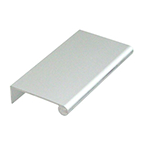 DP41-L Edge Pull No Holes 6' Long  Anodized Aluminum Engineered Products Co DP41-L-A