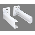 Rear Mounting Socket RH White WE Preferred EUSKT-1-R