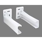 Rear Mounting Socket LH White WE Preferred EUSKT-1-L