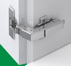 Grass F017139426223 110 Degree Tiomos Soft-close Hinge, Blind Corner, Overlay, Toolless