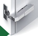 Grass F034139398223 110 Degree Tiomos Self-close Hinge, Blind Corner Hinge, Inset, Toolless