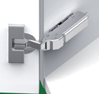 Grass F045138469223 110 Degree Tiomos Self-close Hinge, +37 Degree Angle, Overlay, Screw-on