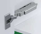 Grass F017139432223 120 Degree Tiomos Soft-close Hinge, -15 Degree Diagonal, Toolless