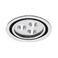 Hera 3W EH24-LED Series LED Puck Light, Cool White, Black, EH24LED5500BL