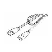 """Tresco 10"""" 120V Link Wire, T-5 Trescent, White, L-LT5-LNK25-WH-1"""