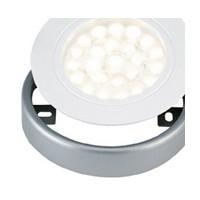 Tresco Surface Mount Ring for EquiLine LED Puck Lights, Nickel, L-SMR-2LED-NI-1