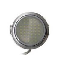 Tresco 3W Pockit 2T 3W LED Puck Light, Warm White, Black, L-LPOC-3W-120NL-WBL-1