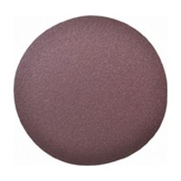 3M 51111504505 Abrasive Disc, Aluminum Oxide on J-Weight Cloth, 5in, No Hole, PSA, 80 Grit