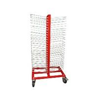 50 Shelf  Heavy Duty Drying Rack Red WE Preferred RVDRYRACK