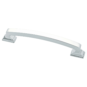 "6"" Polished Chrome Pull, Classic Edge, Liberty P34928-PC-C"