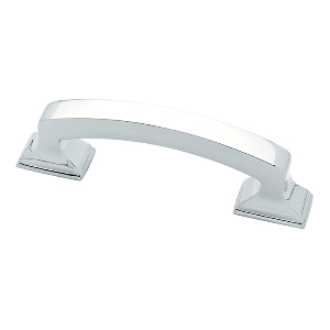 """Classic Edge Pull 3"""" Center to Center Polished Chrome Liberty P34926-PC-C"""