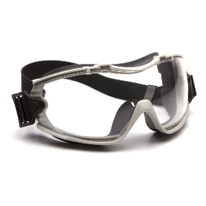 Aegis Clear Lens Anti-Fog Scratch-Resistant Safety Goggles