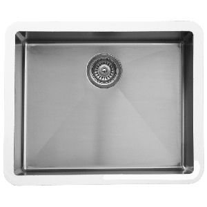 "Karran E-420, Edge 24-1/4"" x 18-1/4""  Undermount Kitchen Sink, Single Bowl"