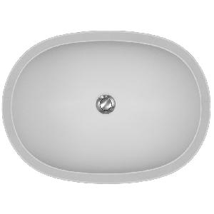 "Karran OXFB, Oxford 31-5/8"" x 19""Acrylic Vanity Sinks, Undermount Single Bowl, Bisque, ADA"