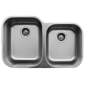 "Karran U6040R, 31-1/2"" x 20-1/8"" Undermount Bar/ Prep Sink, Single Bowl, Stainless Steel"