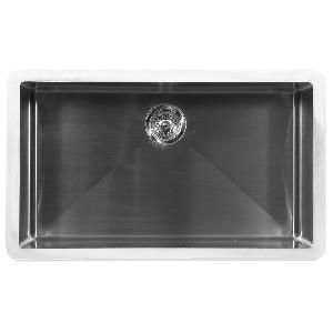 "33"" Seamless Undermount Large Single Bowl Stainless Steel Kitchen Sink Karran E-540"