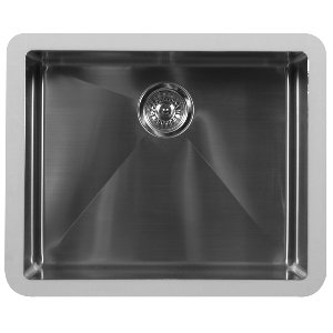 "Karran E525, Edge 23-1/2"" x 19-1/2"" Undermount Kitchen Sink, Single Bowl, ADA"